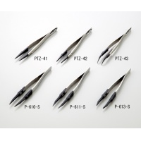 ESD镊子 TWEEZERS ANTI-STATIC  PTZ-42(先端丸形タイプ)